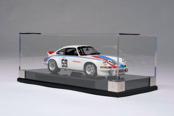Amalgam Porsche 911 RSR 1973 2.8 Brumos Daytona H.H. signed 1:18