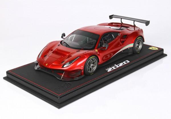 BBR Ferrari 488 GT3 2020 Rosso Fuoco 1/18 Limited Edition 24