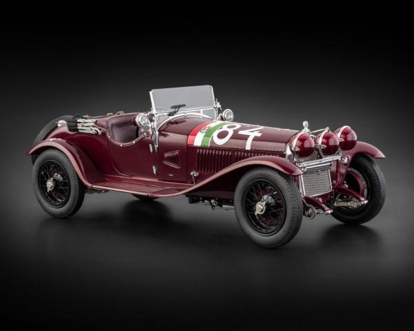 CMC Alfa Romeo 6C 1750 GS, 1930 Mille Miglia / Nuvolari #84 Limited Edition 2.000 Stück