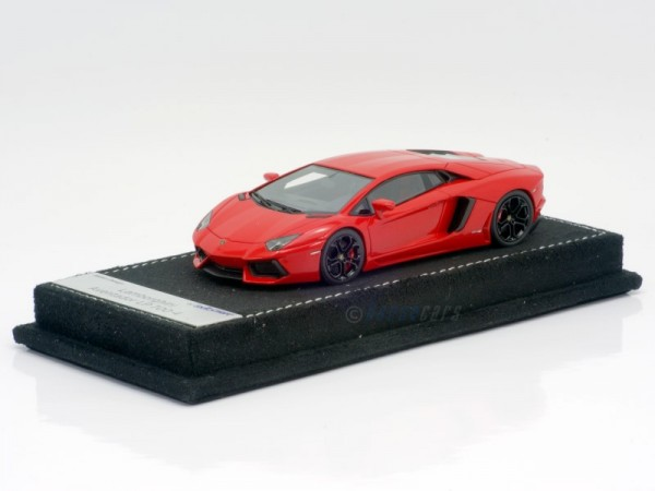 Looksmart Lamborghini Aventador LP 700-4 red metallic gloss Limited Edition 25
