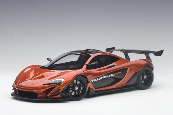 Auto Art McLaren P1 GTR (volcano orange) 2015 1/18