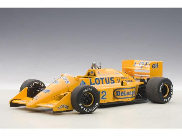 AUTOart Lotus 99T Honda F1 Japanese GP 1987 Senna #12 1:18