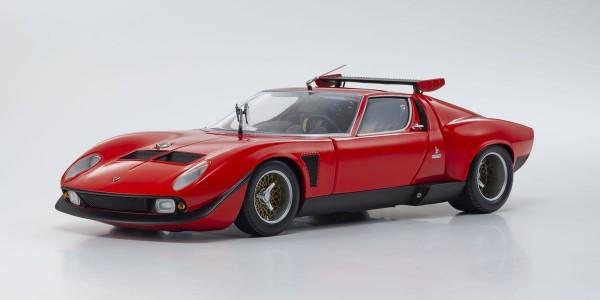 Kyosho Lamborghini Miura SVR (Red / Black) 1/18