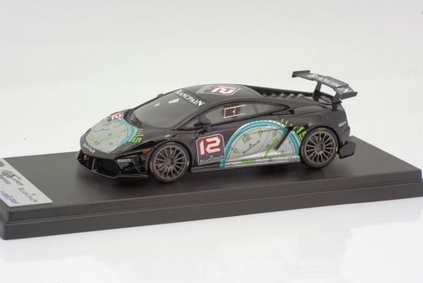 Looksmart Lamborghini Gallardo Super Trofeo 2009 Uhr schwarz mit silber