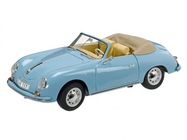Schuco Porsche 356A Cabriolet Baujahr 1955-59 hellblau 1:18
