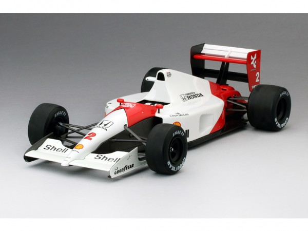 True Scale McLaren-Honda MP4/6 - San Marino GP 1991 - Gerhard Berger - 1 of 500 - TSM-Model - 1:18