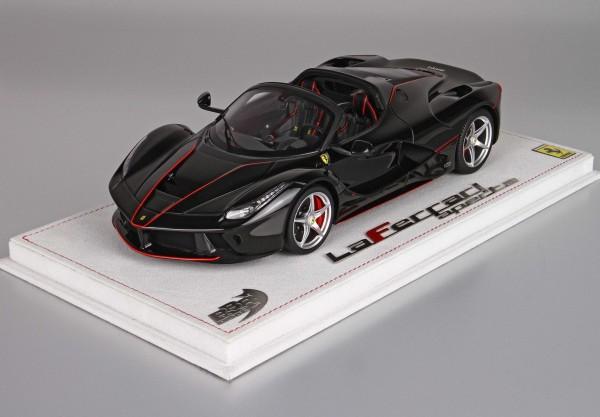 BBR LaFerrari Aperta New Black Daytona Limited Edition 99 1/18