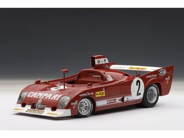 Auto Art Alfa Romeo 33 TT - SPA 1975 - Pescarolo / Bell - #2 1:18