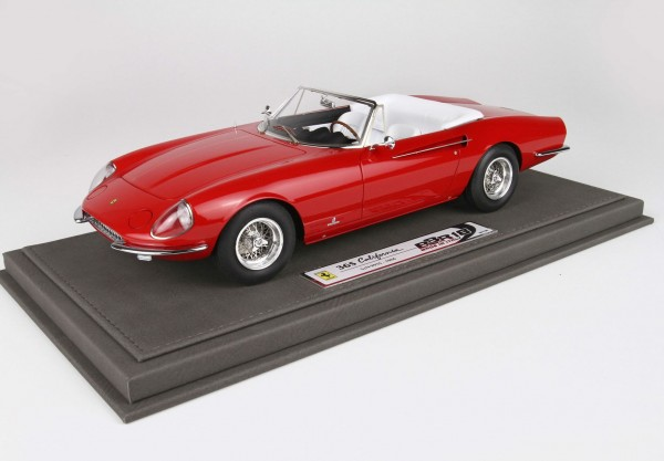 BBR Ferrari 365 California S/N 09935 rot 1966 1/18 Limited Edition 108