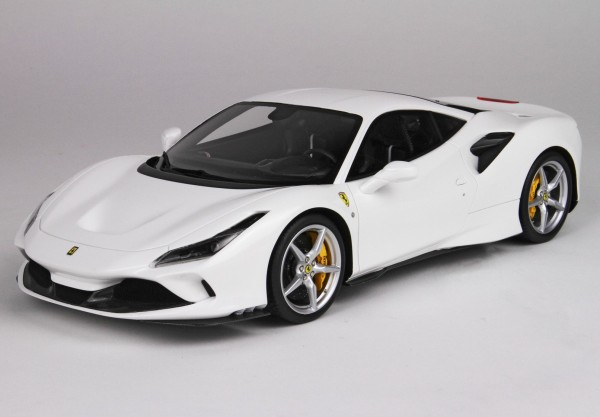 BBR Ferrari F8 Tributo Bianco Cervino Limited Edition 18 Stück
