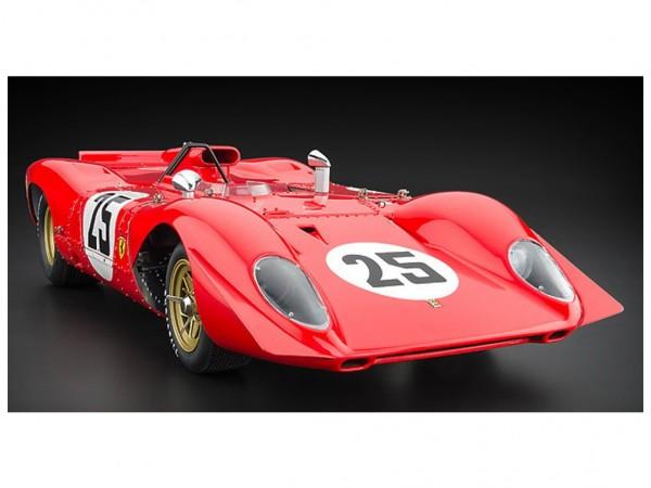 CMC Ferrari 312P Spyder, Sebring #25, Amon/Andretti, 1969 Signatur Edition Andretti, lim edition 325