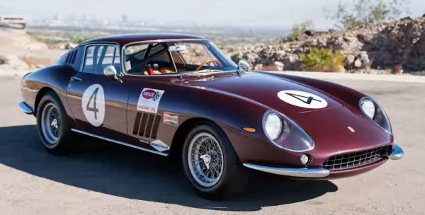 CMC Ferrari F275 GTB/C, weinrot, Chassis No. 9063, Nassau Tourist Trophy 1966, Pedro Rodriges, #4 Li