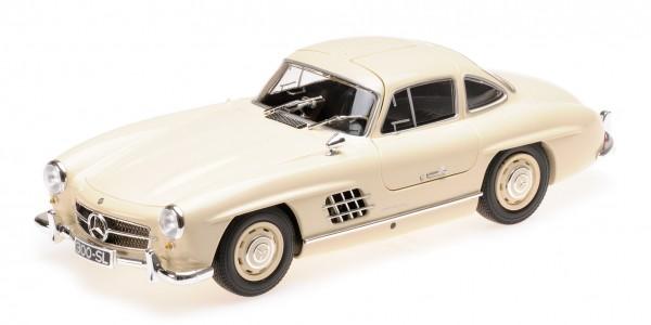Minichamps Mercedes-Benz 300 SL (W198) - 1955 - creme 1:18