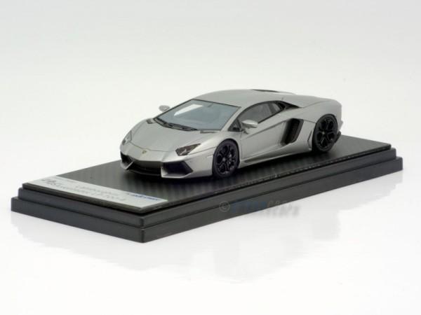 Looksmart Lamborghini Aventador LP 700-4 grigio antares mat. Modell auf Carbonbasis Limited Edition