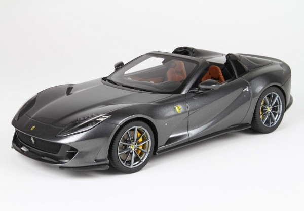 BBR Ferrari 812 GTS World premiere 2019 Grigio Alfieri Limited Edition 132 1/18