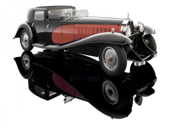 Bauer Bugatti Royale Coupe de Ville schwarz-rot