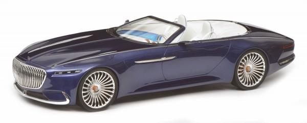 Schuco PRO.R18 Mercedes-Maybach Vision 6 Cabriolet, blau 1:18