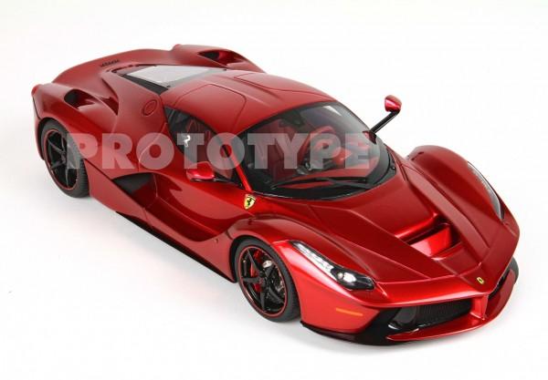 BBR Ferrari LaFerrari L.H. F1 WC Rosso Fuoco Limited Edition 60 1/12