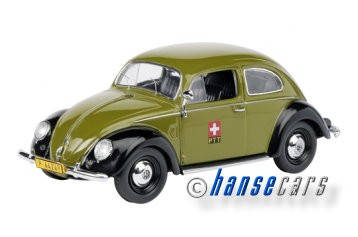 Schuco VW Kaefer PTT Stoerungsdienst Limited Edition 1000