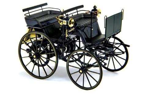 NOREV Mercedes Daimler Motorkutsche 1886 Mercedes Box