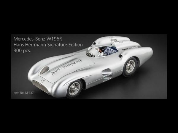 CMC Mercedes-Benz W196R Hans Herrmann Signature Edition Limitiert 300 Stck.