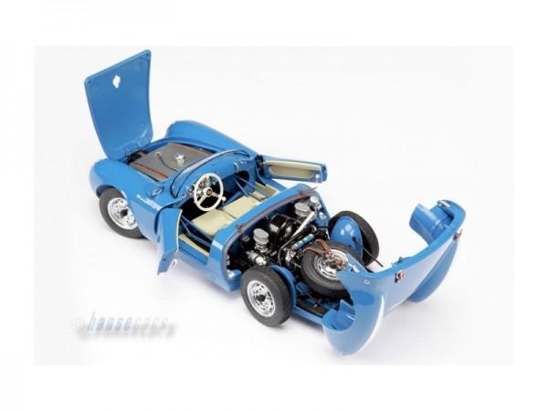 Schuco Exklusiv Porsche 550 Spyder blau 1:18 Speelgoed en spellen ...