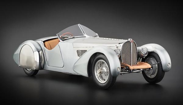 CMC Bugatti 57 SC Corsica,1938 Unlackiert , Limitiert 1000 Stck.