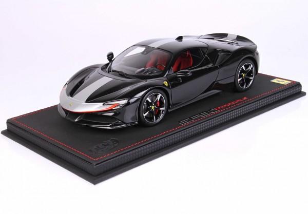 BBR Ferrari SF90 Stradale Pack Fiorano Nero Limited Edition 32 1/18