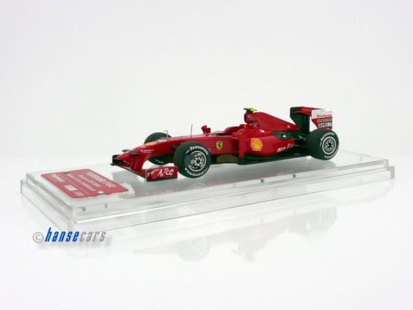 Tameo Ferrari F60 Sieger GP Belgien Spa 2009 Kimi Raikkonen Limited