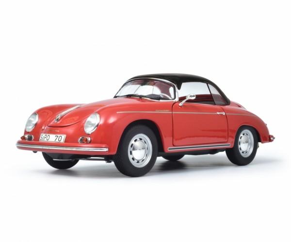 Schuco Classic Porsche 356 A, rot 1:18