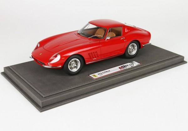 BBR Ferrari 275 GTB4 1966 rot Limited Edition 250 1/18
