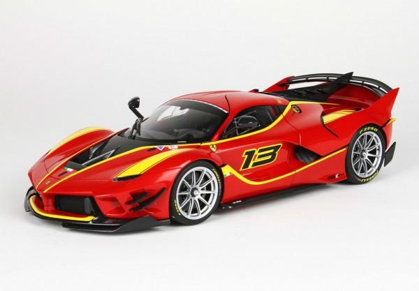 BBR Ferrari FXXK-EVO DIE CAST Rosso Corsa 322 #13 1/18