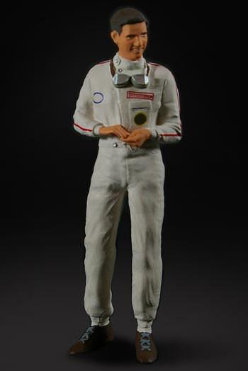 figurenmanufaktur Figur 1:18 Jim Clark, Rennfahrer