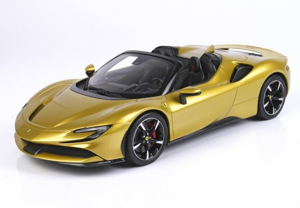 BBR Ferrari SF90 Spider Giallo Montecarlo Limited Edition 200 1/18
