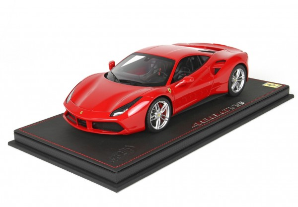 BBR Ferrari 488 GTB Red Corsa 322 1/18 Limited Edition 24 Stück