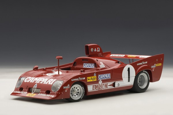 Auto Art ALFA ROMEO 33 TT 12 1000km NÜRBURGRING WINNER 1975 MERZARIO/LAFITTE #1
