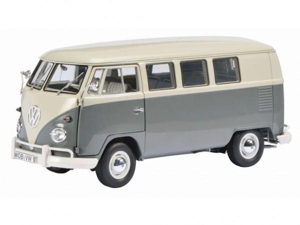 Schuco Exklusiv VW T1 Bus, perlweiß-mausgrau Limited Edition 1000