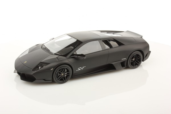MR Models Lamborghini Murcièlago LP670-4 SV Fixed Wing scale 1/18 BLACK NEMESIS