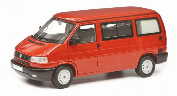 Schuco Classic VW T4b Westfalia Camper, rot 1:18