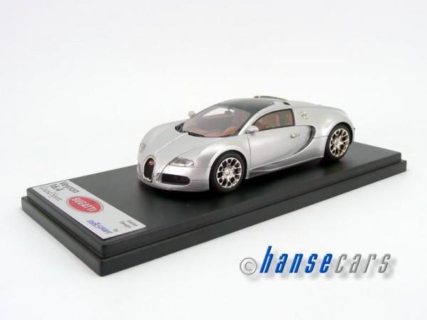 Looksmart Bugatti Grand Sport 2008 Spider geschlossen silber 1:43