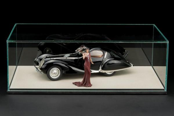 CMC Talbot Lago Coupé T150 C-SS Figioni & Falaschi Teardrop schwarz Tecno Classica 2019 Sondermodell