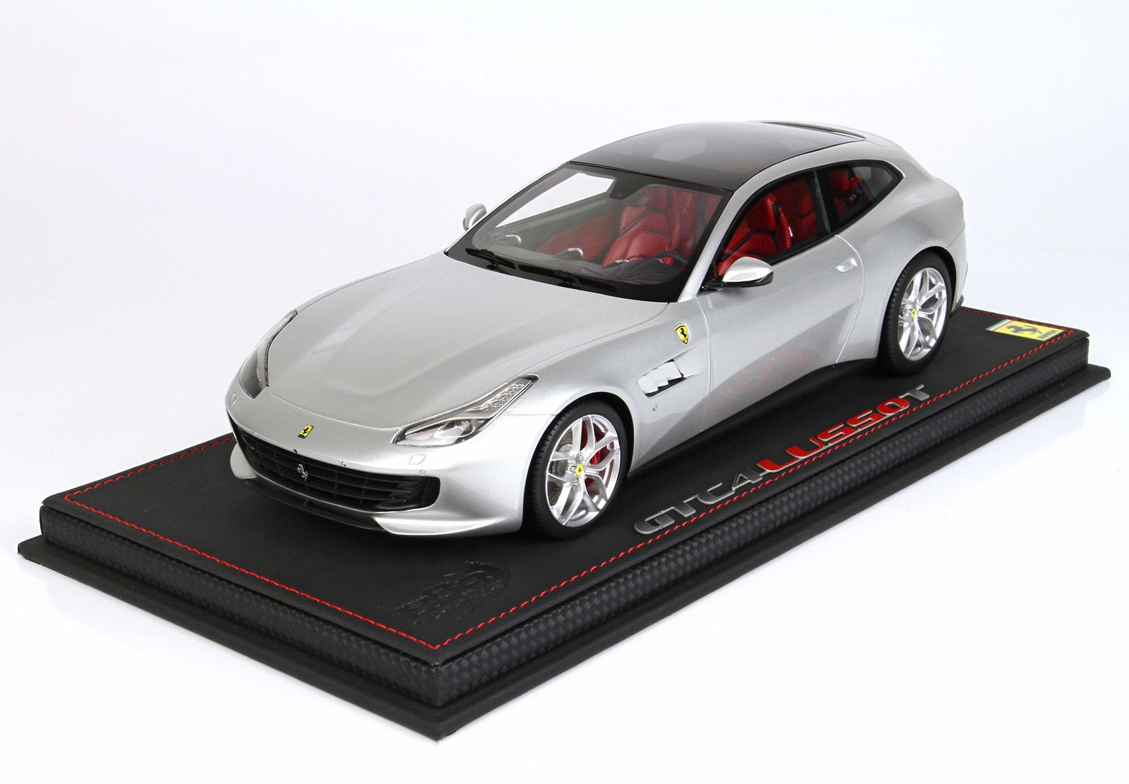 Bbr Ferrari Gtc4 Lusso T Panoramic Roof Argento Nurburgring With Silver Wheels 1 18 Limited Edition Hansecars Modellautos Hansecars Exklusive Sammlermodelle