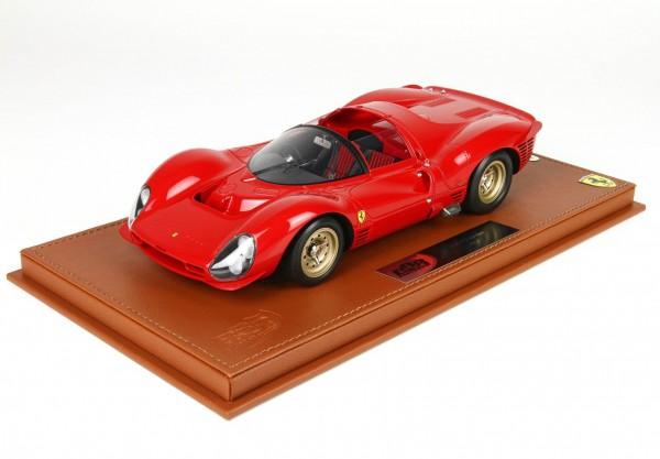 BBR Ferrari 330 P3 Spider 1966 Street Version Limited Edition 40 1/18