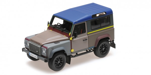 Almost Real LAND ROVER DEFENDER 90 PAUL SMITH EDITION 2015 1:18