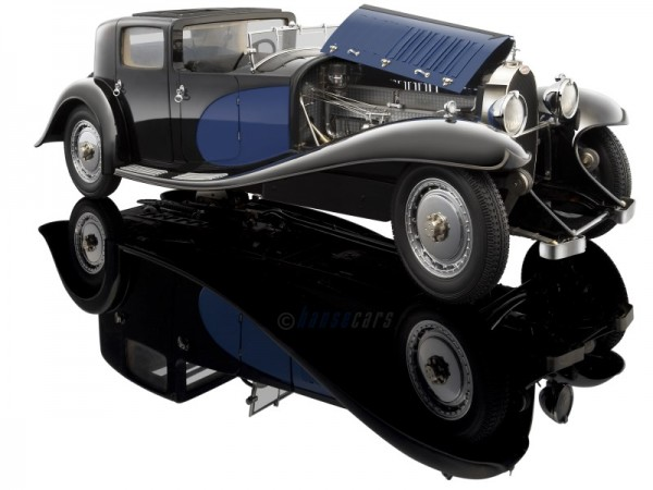 Bauer Bugatti Royale Coupe de Ville schwarz-blau