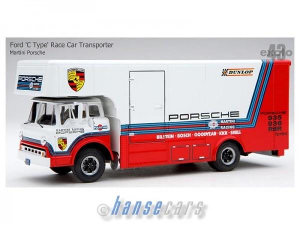 Exoto Racing Team Transporter Martini Porsche
