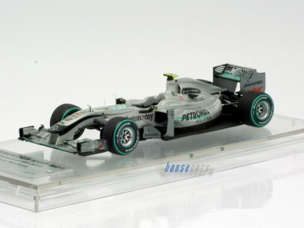 Tameo Mercedes GP Petronas MGP W01 GP Kanada 2010 Nico Rosberg