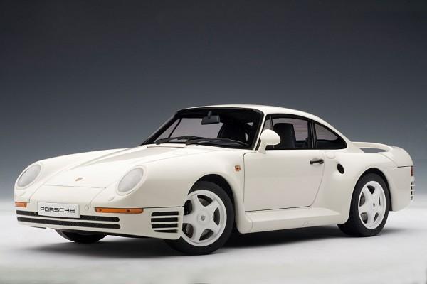 Auto Art Porsche 959 weiß 1986 1:18