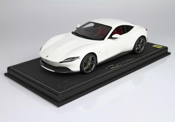 BBR Ferrari Roma Bianco Italia Limited Edition 70 1/18