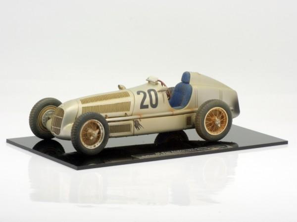 """CMC Mercedes-Benz W25 #20 Eifel Race von Brauchitsch """"Dirty Hero 20 Jahre CMC"""" Sitz blau Limited Edi"""